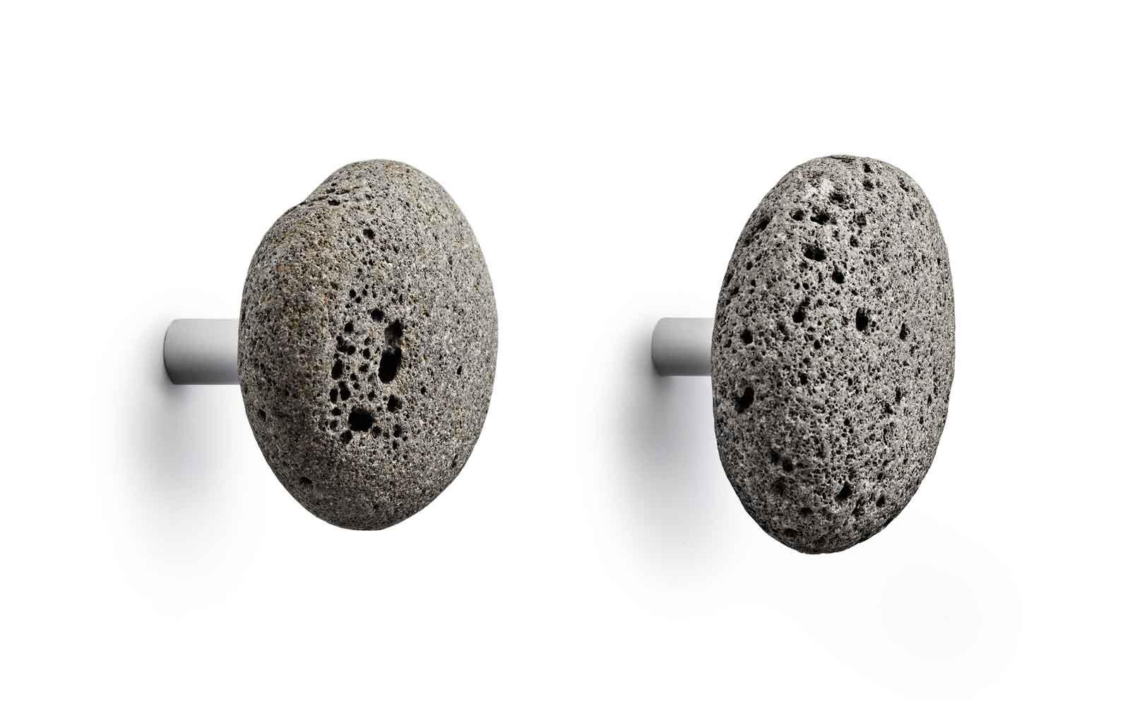 stone hooks unique minimalistic design of natural stone