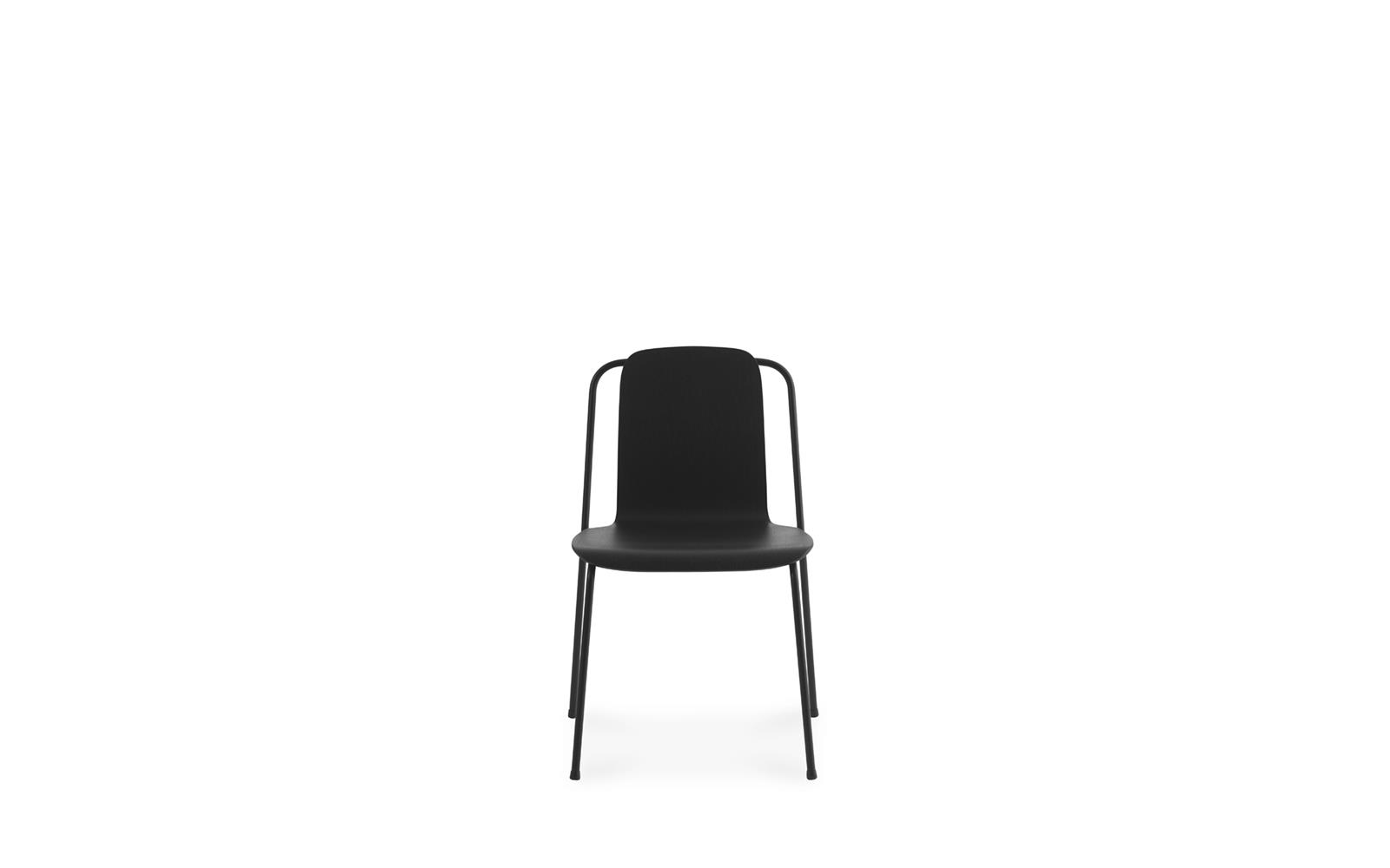 Studio  Chair Black Steel2