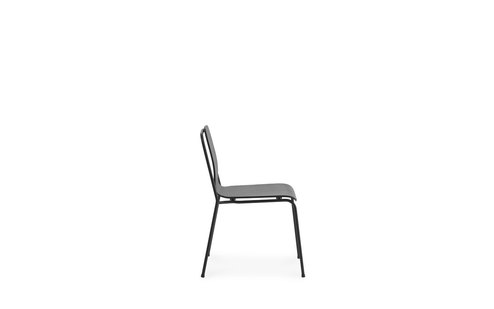 Studio  Chair Black Steel3