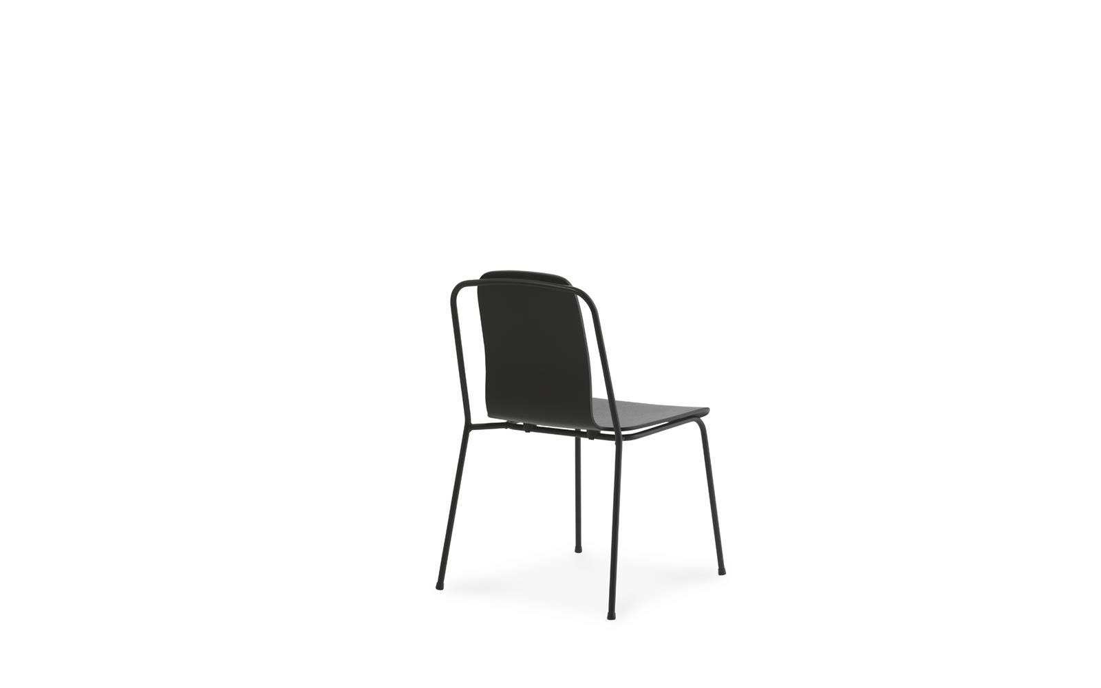 Studio  Chair Black Steel4