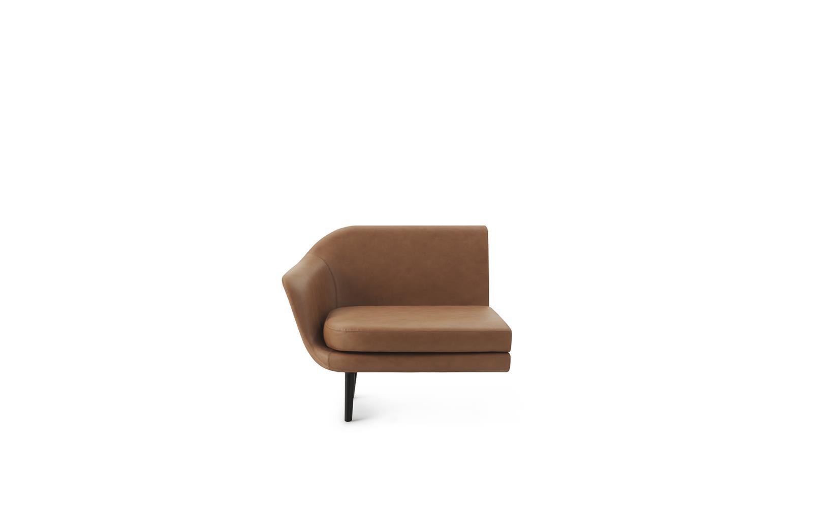 Sum Modular Sofa 100 Left Armrest Black1