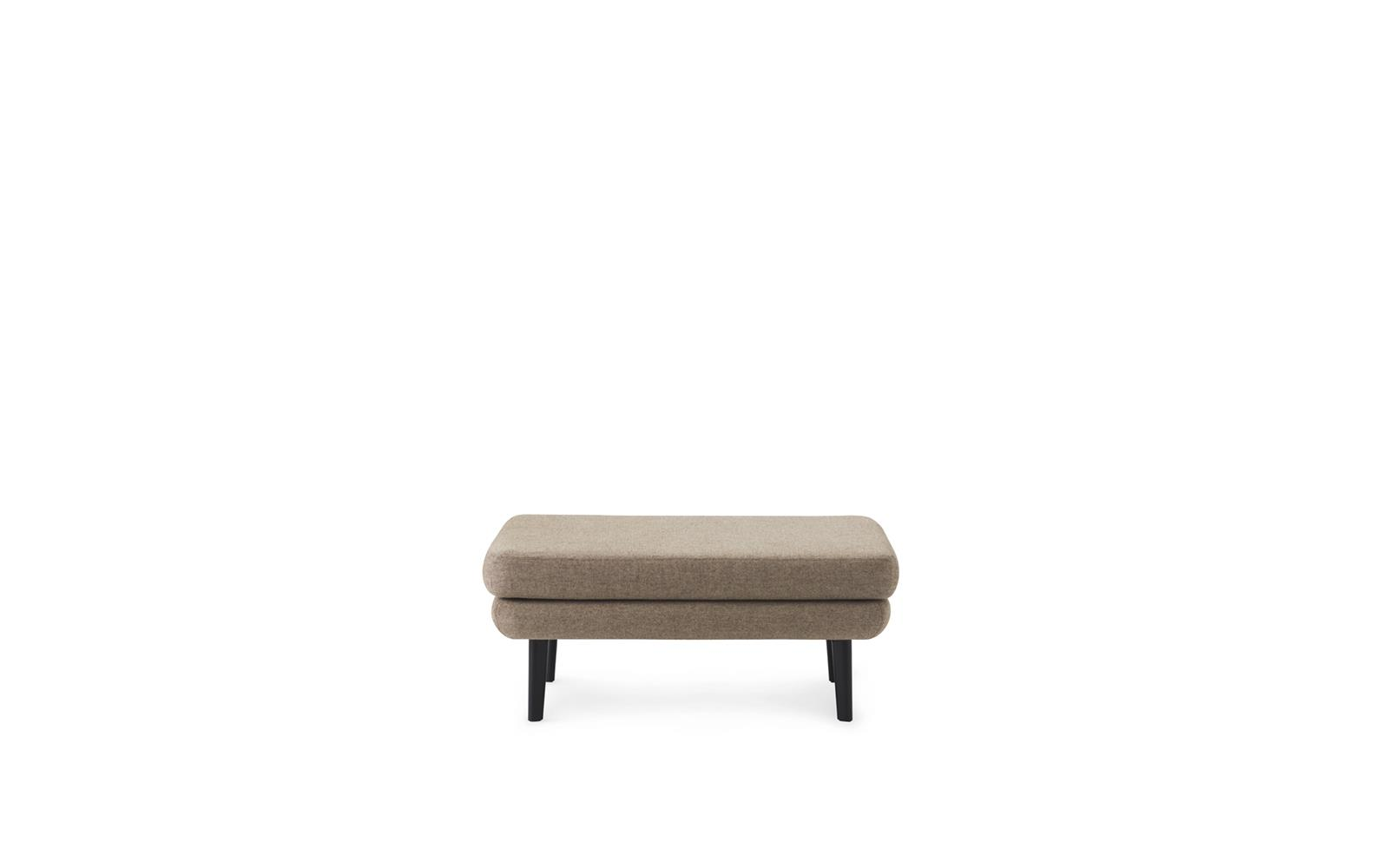Sum Modular Sofa 710 Pouf Large Black2