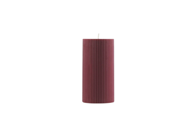 Grooved Block Candle1