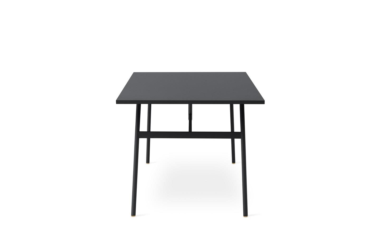 union table 140 x 90 cm black. Black Bedroom Furniture Sets. Home Design Ideas