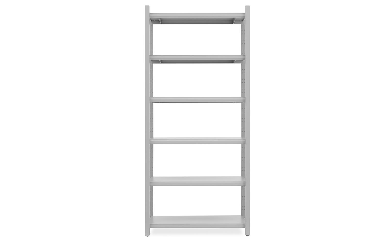 Work Bookcase High 4 Pillar2