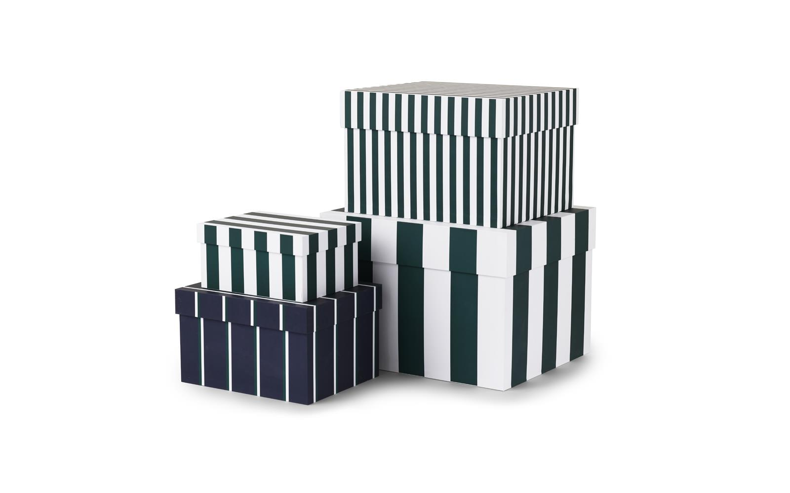 Boxes Stripe set of 4 pcs1
