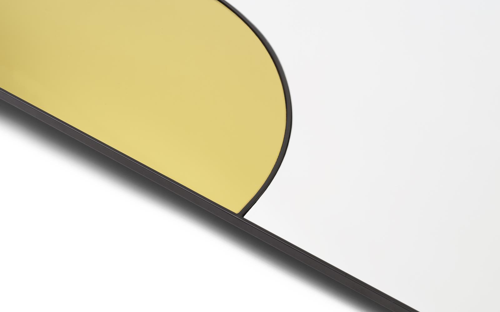 Bevorzugt Mirage Spiegel 80 x 50 cm gold FY21
