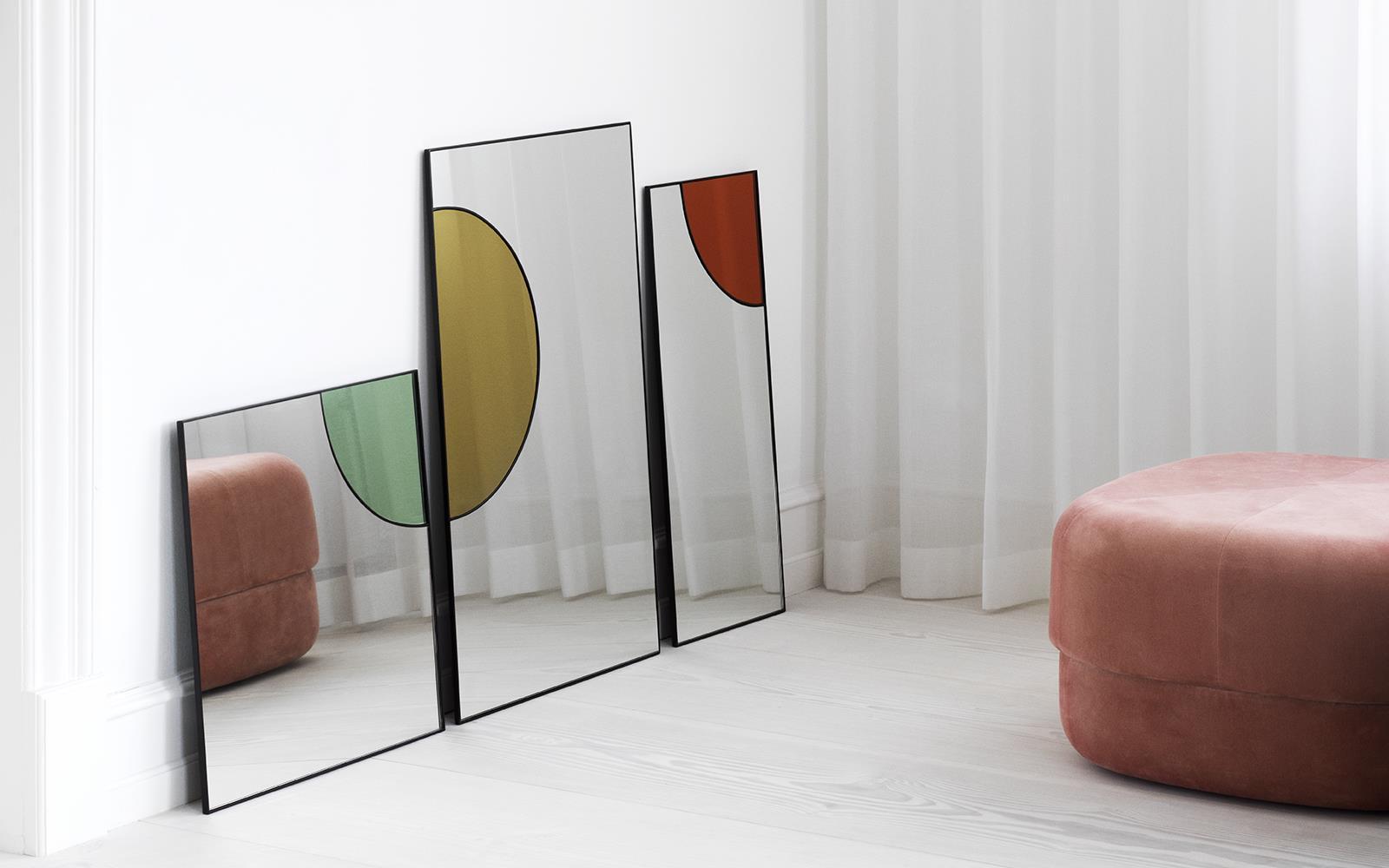Relativ Mirage Spiegel 80 x 50 cm gold PQ31