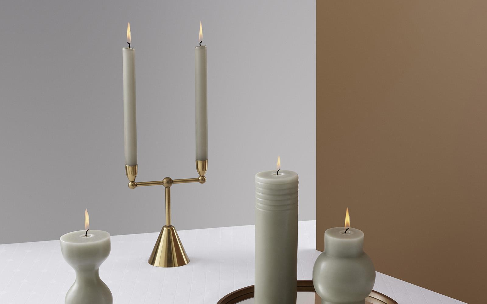 Pirouette Candle Holder 22