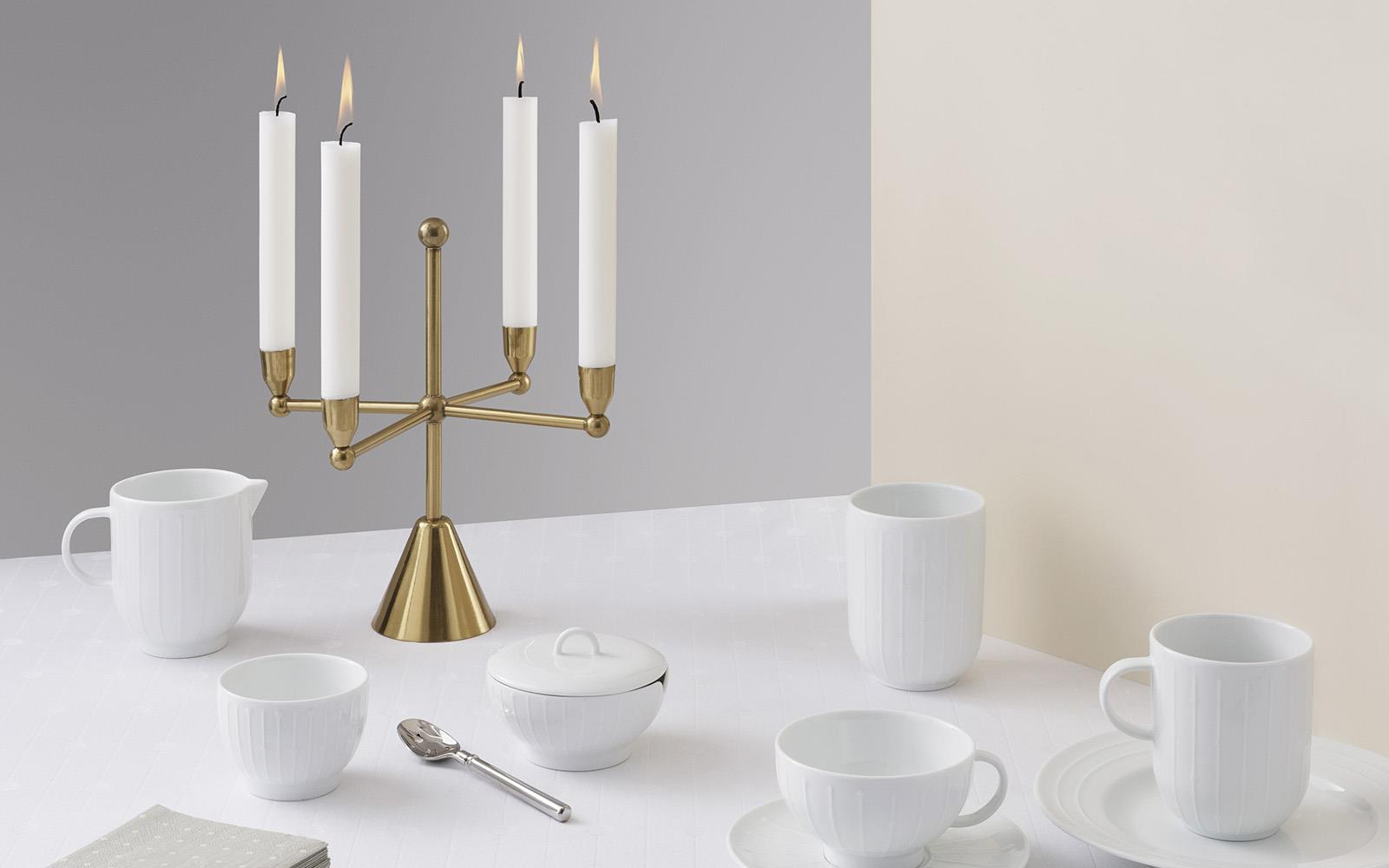Pirouette Candle Holder 42