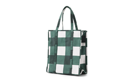 Mega Check Shopping Bag1