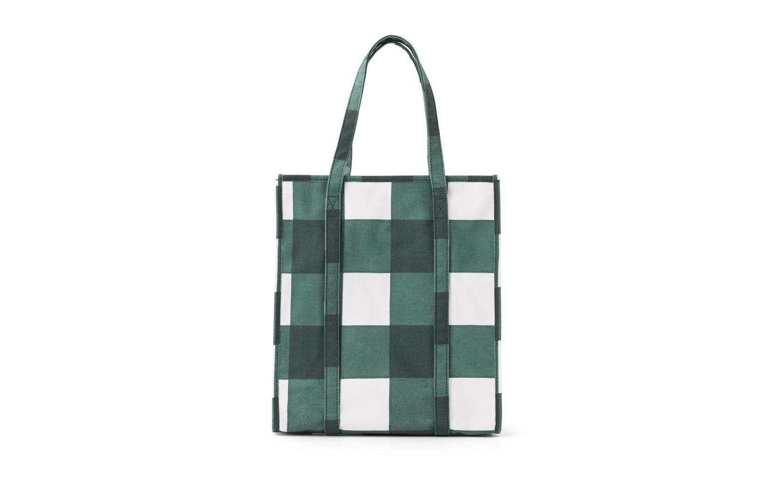 Mega Check Shopping Bag2