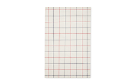 Tea Towel Simple Check   2 pcs1