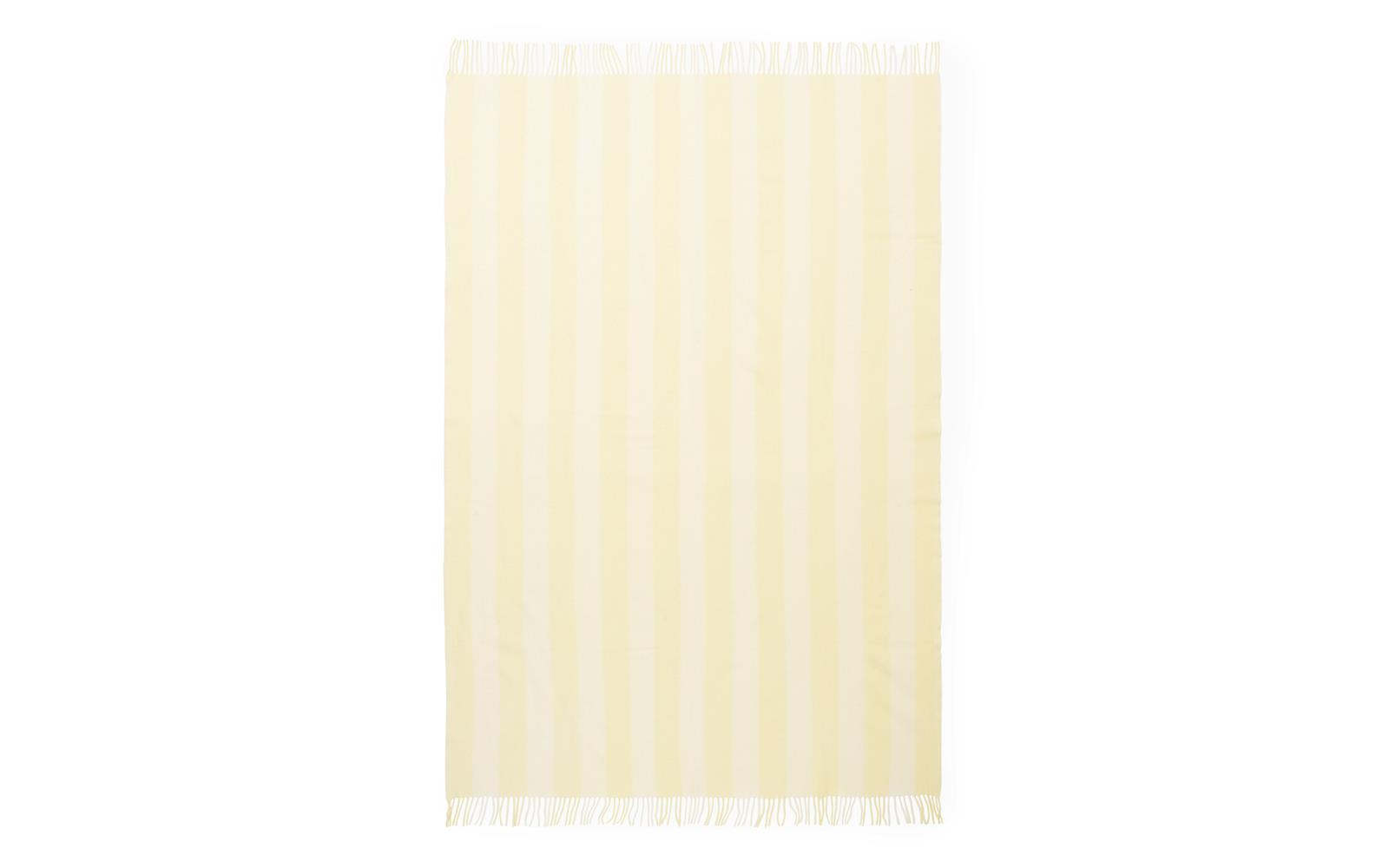 Pale Yellow Throw Blanket.Throw Blanket Candy Stripe Pale Yellow