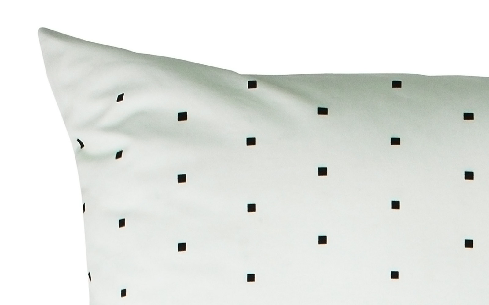 Cube bed linen, mint, by Normann Copenhagen