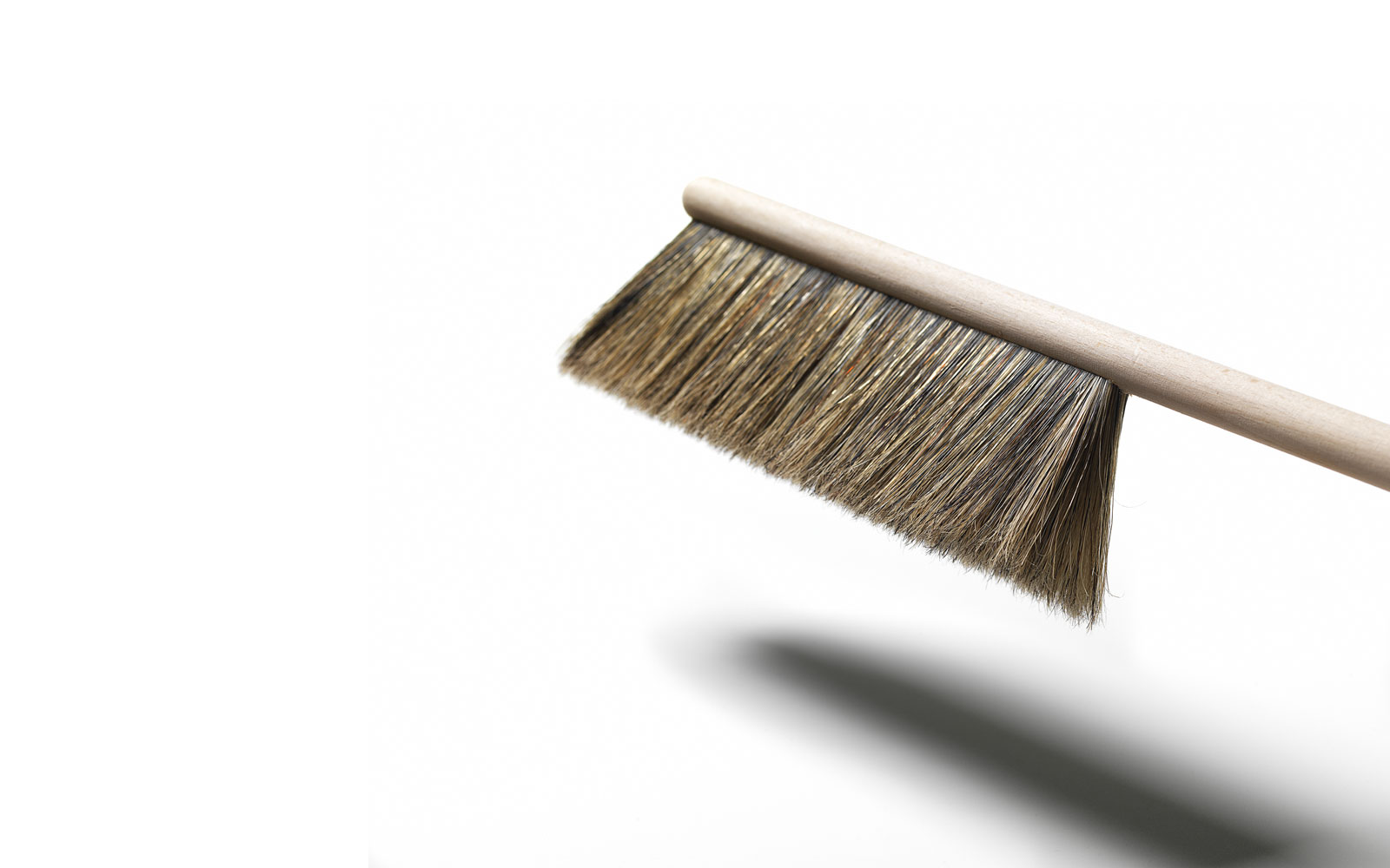 Dustpan broom