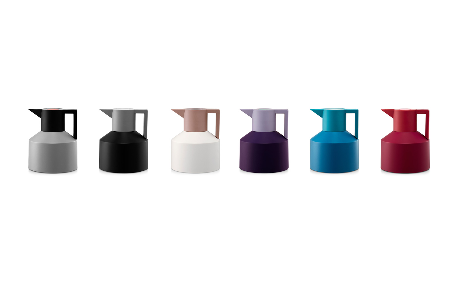 Geo vacuum flask group row all colors