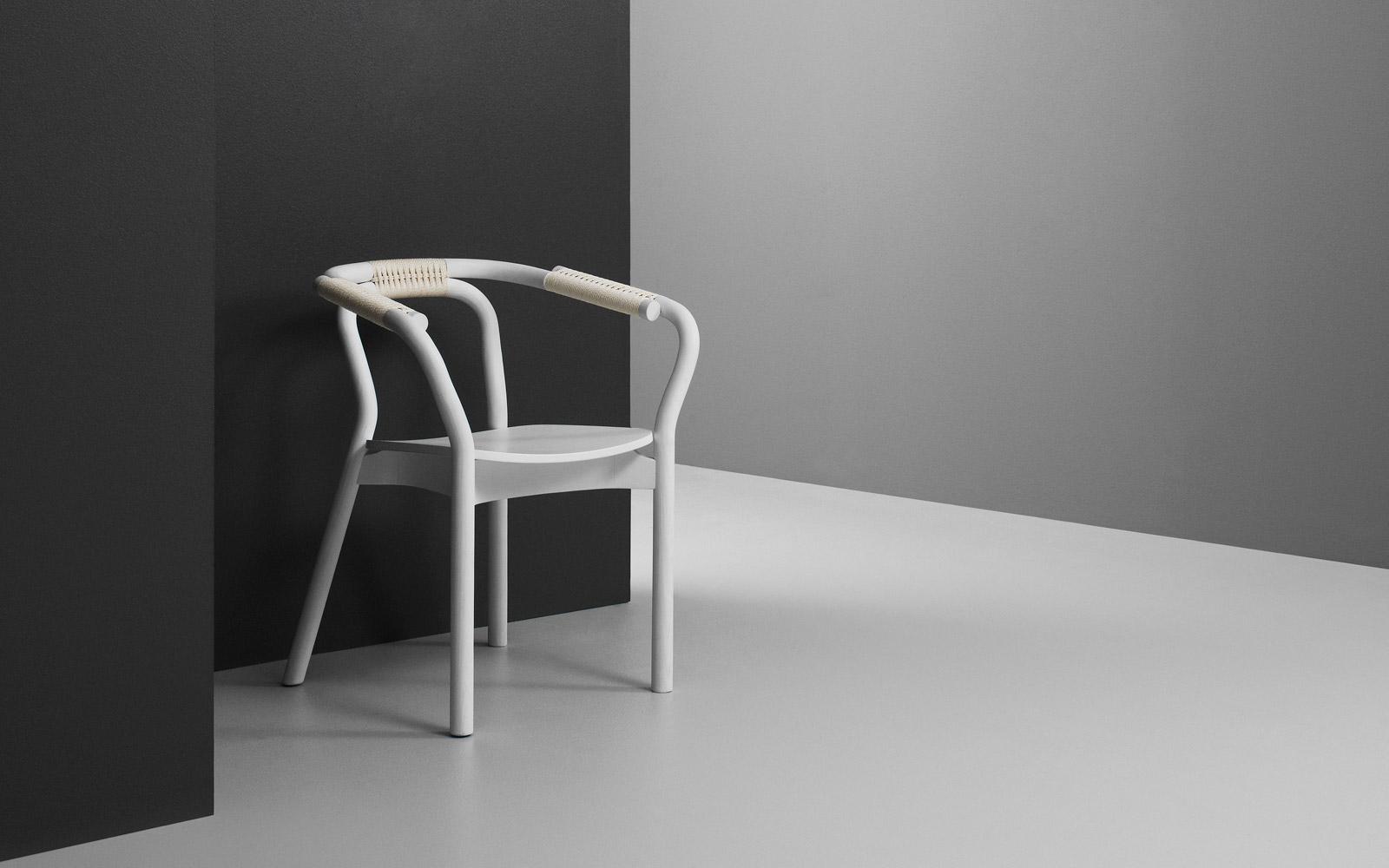 Normann Copenhagen Stoel : Normann copenhagen form chair stuhl mit stahluntergestell