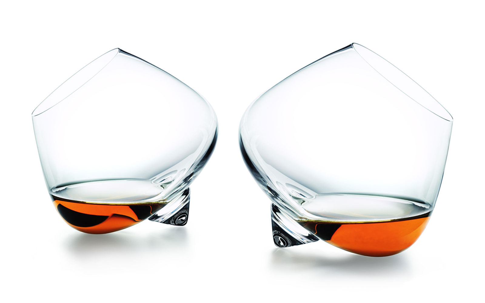 Liqueur glass function two glasses orange