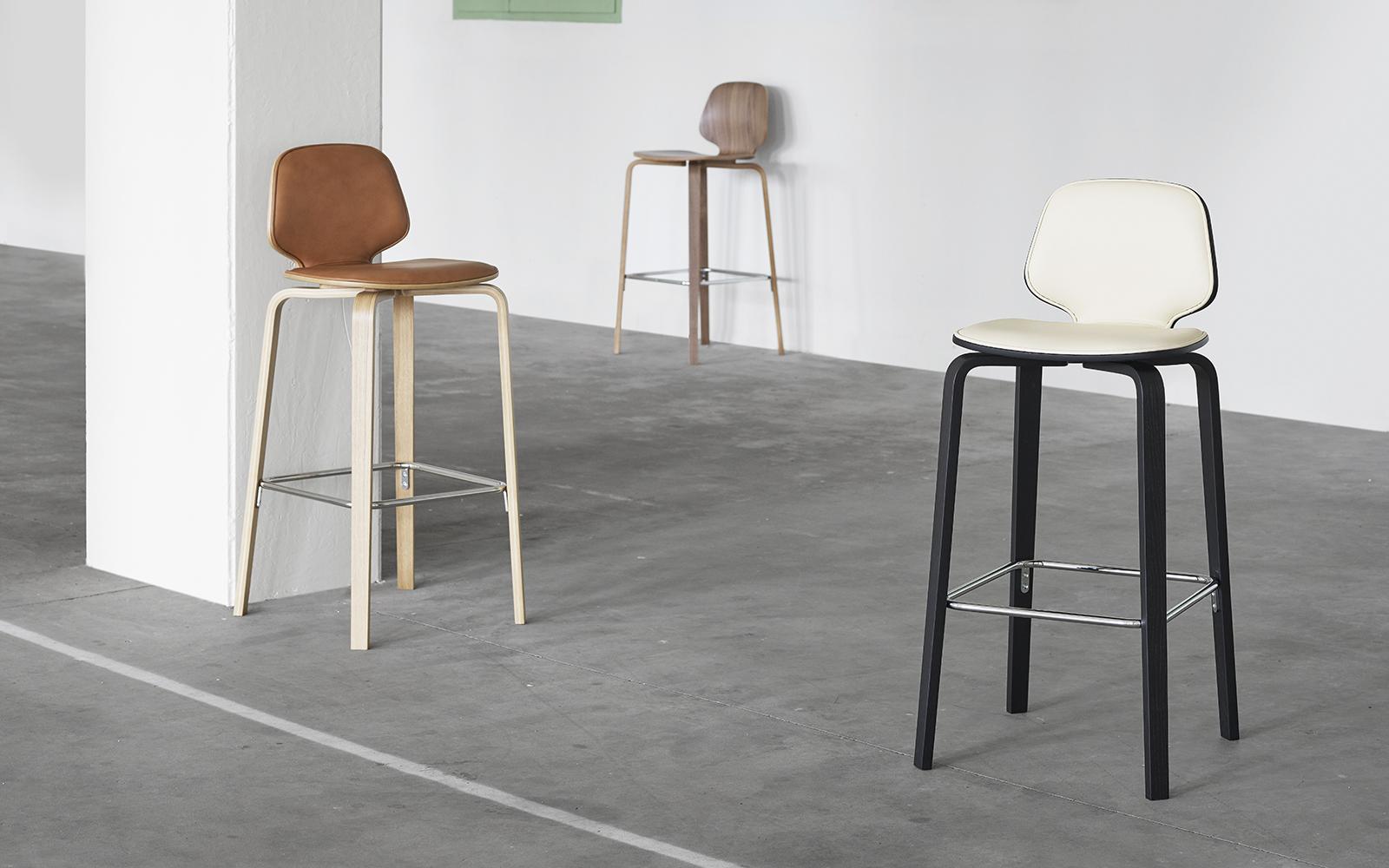 Awe Inspiring My Chair Barstool 75 Cm Walnut Camellatalisay Diy Chair Ideas Camellatalisaycom
