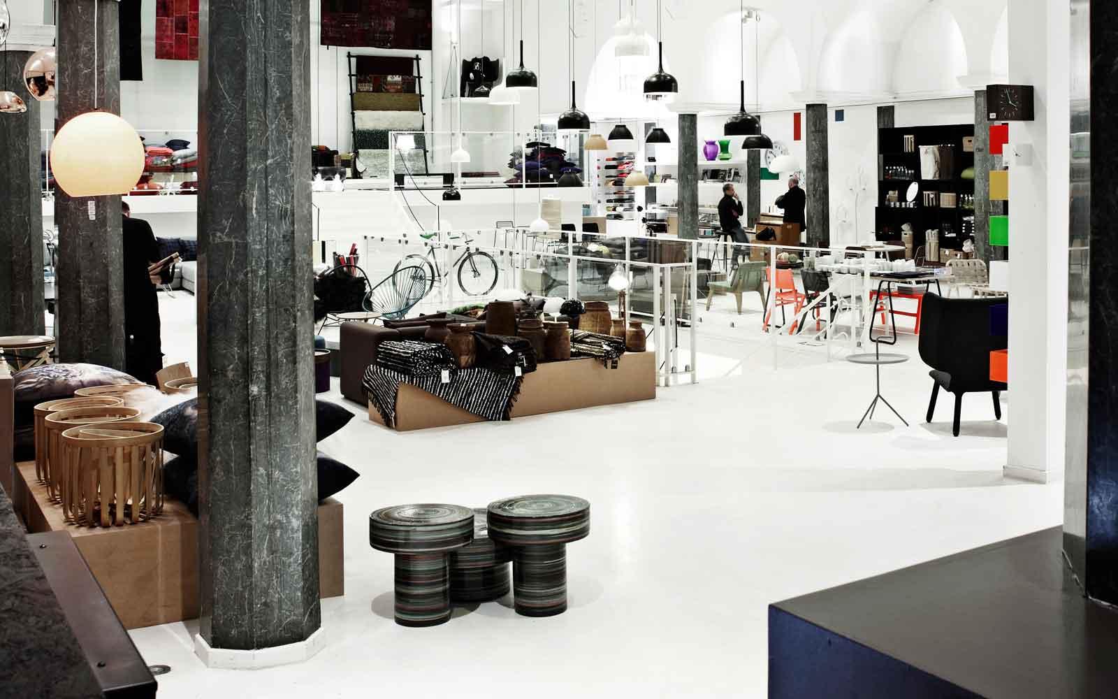 Flagship store for Normann copenhagen shop