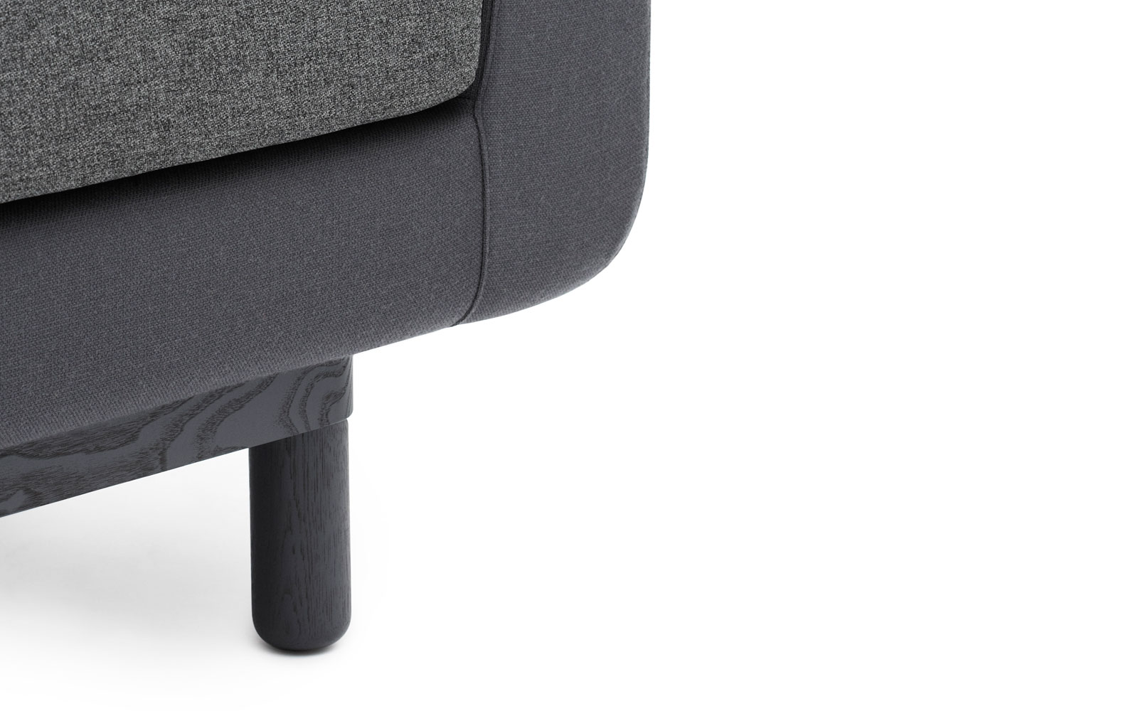 Onkel Sofa Dark Grey Detail
