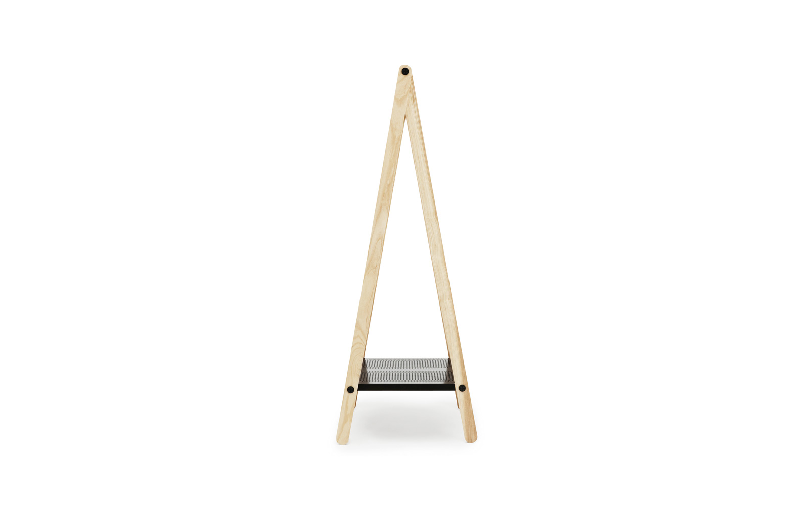 Toj Clothes Rack Grey Side