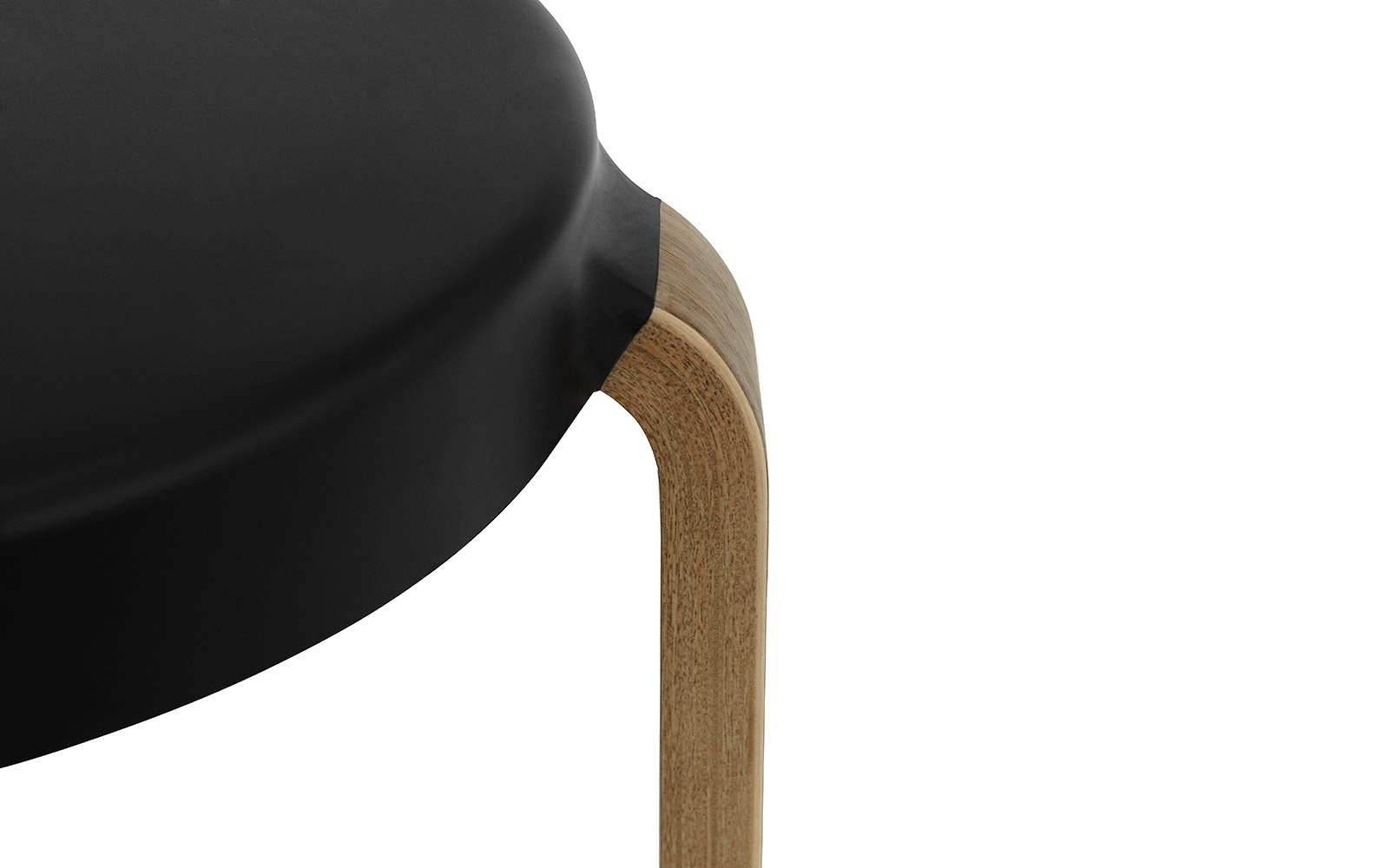 Tap Stool In Walnut Olive Innovative Three Legged Stool
