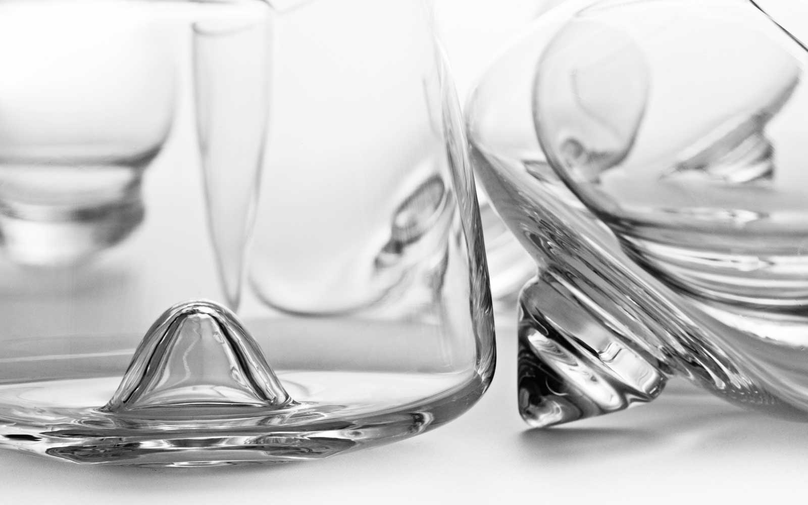 drink series glasses on white background whiskey cognac liqueur detail