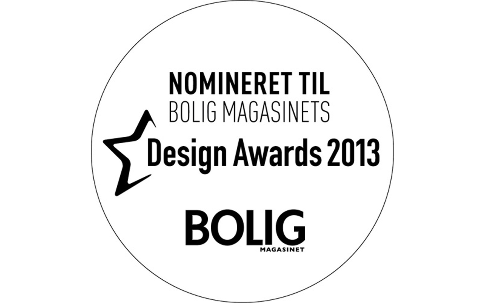 Bolig Magasinets Award nomination