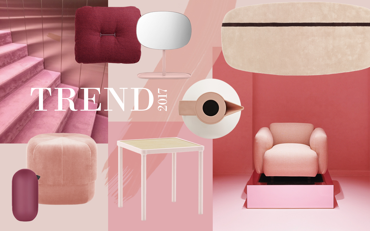 Color Trending Pink: Trend 2017 Pink