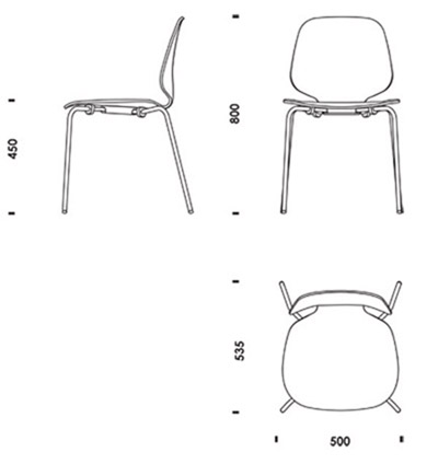 Chair plan dwg