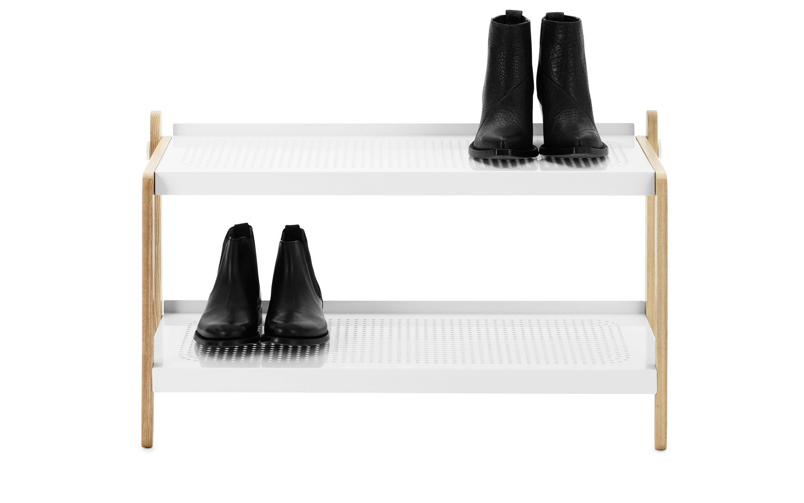 Functional Art Shoe Rack Interior Decorating Accessories