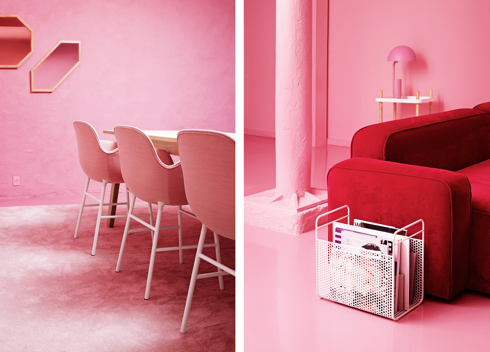 Turn Your Office Into A Stylish Place For Meetings Pink