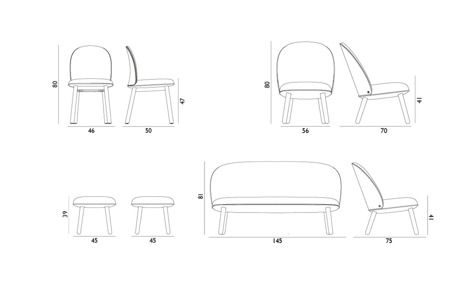 Bett strichzeichnung  All Eyes On Ace - Flatpacked Lounge Furniture