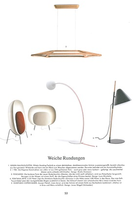 Hello lamp, Normann Copenhagen, Wohnrevue September 2012