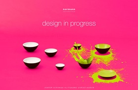The winners of be creative and win splash on pink background design in progress krenit bowls