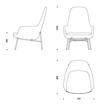 Download 2d 3d cad files for Chaise lounge cad block
