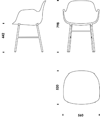 how to draw a chair in a floor plan
