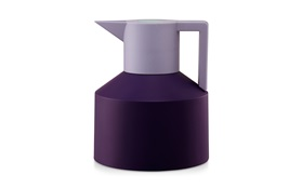Geo vacuum flask purple sideview