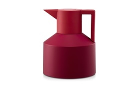 Geo vacuum flask red sideview