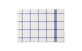 Mormor blue square buttering board small topview