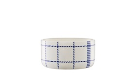 Mormor blue bowl small fromtview