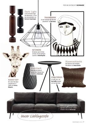 lumberjack in black medium is simple in its expression. Black Bedroom Furniture Sets. Home Design Ideas