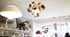 bau lamp a sculptural wooden ceiling lamp of. Black Bedroom Furniture Sets. Home Design Ideas