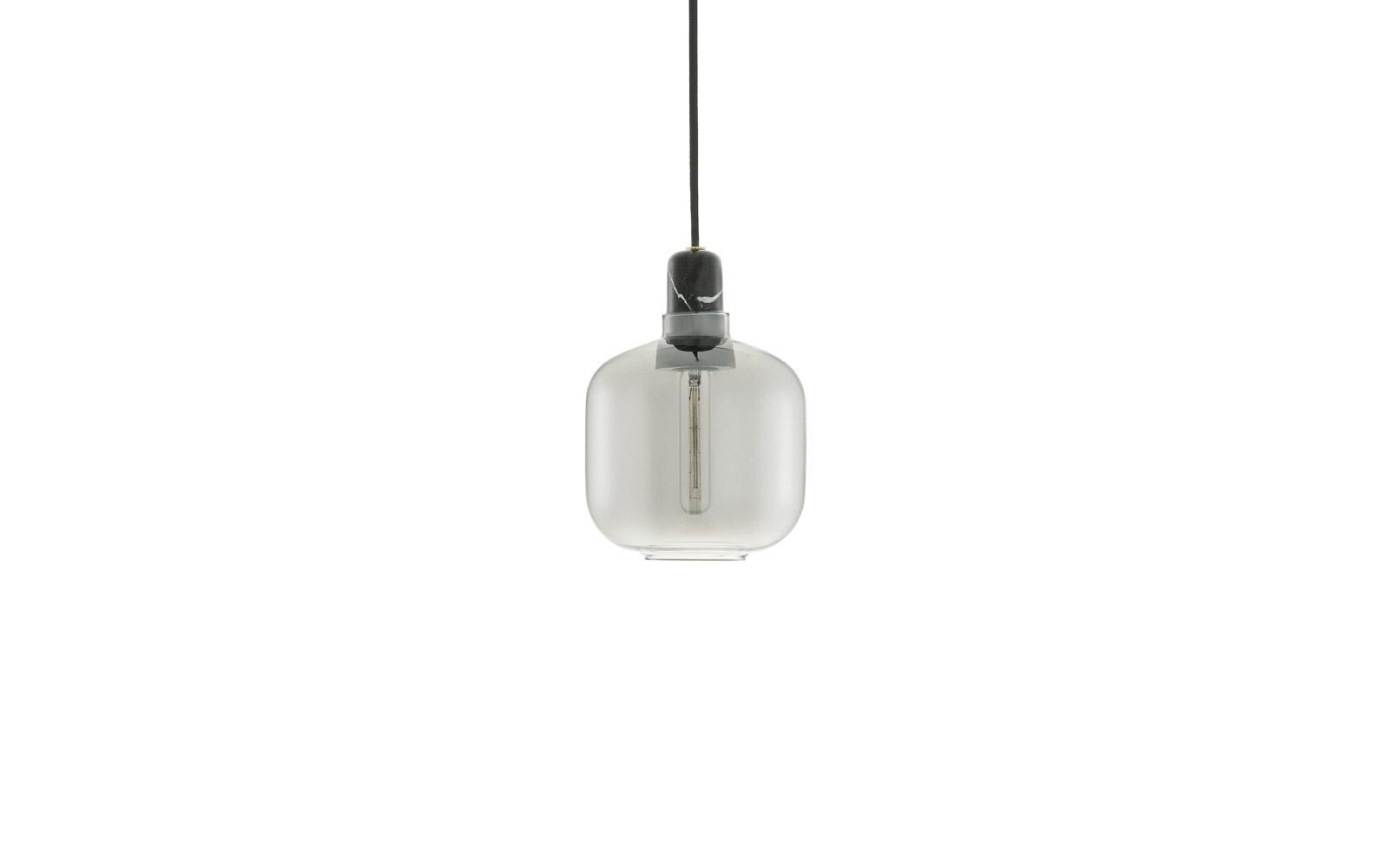 Amp Lamp Small smoke/black