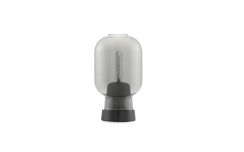 amp table lamp modern glass table lamp. Black Bedroom Furniture Sets. Home Design Ideas