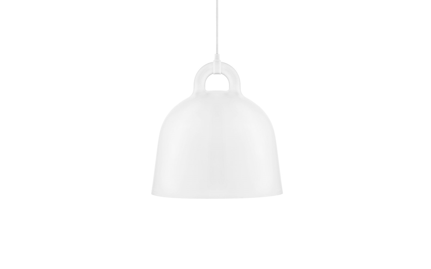 Bell Lamp Medium White