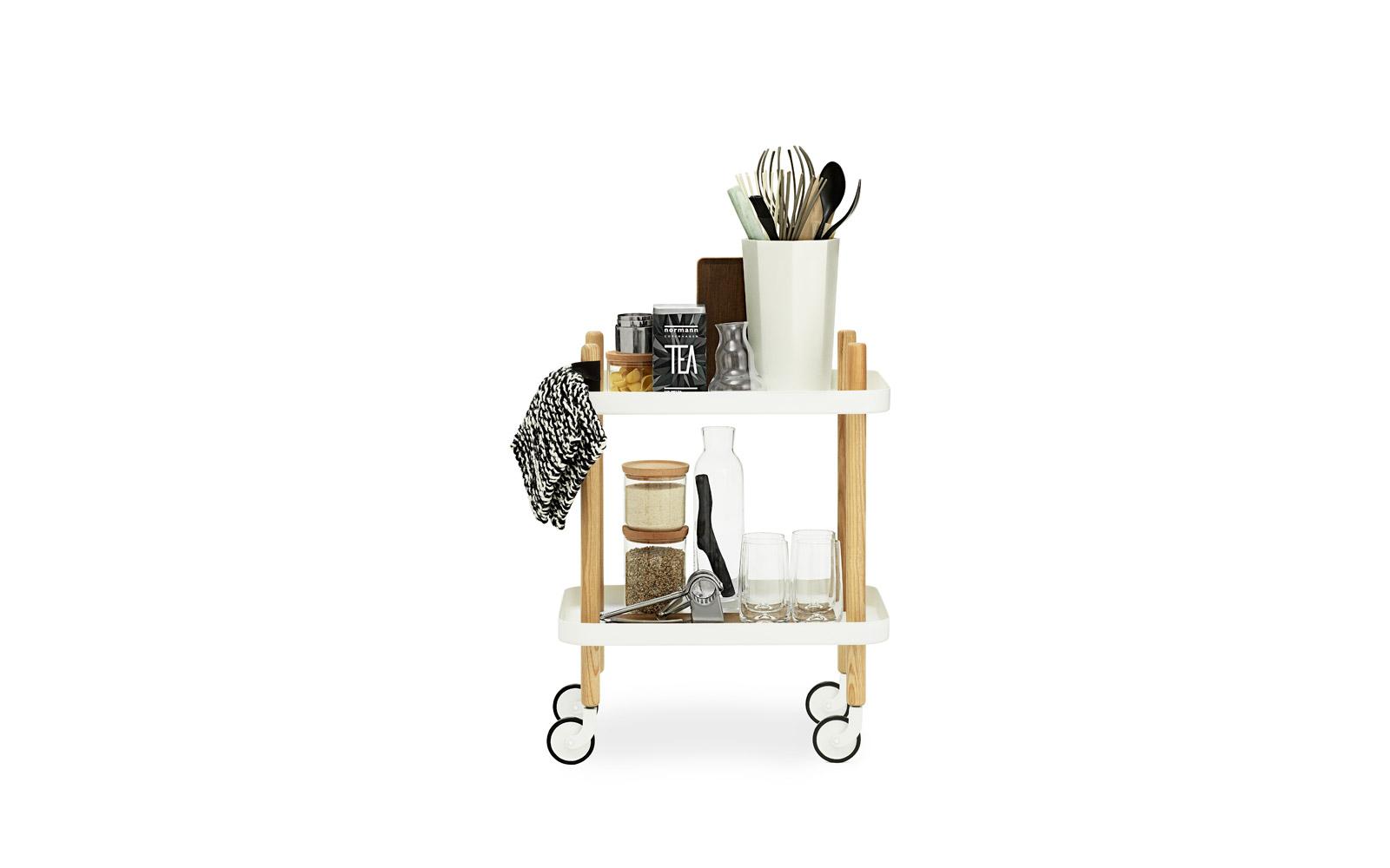 Block side table dark blue – a versatile furniture pieceBlock
