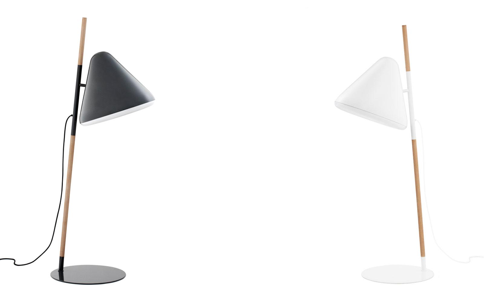 hello lamp white floor lamp playfull design. Black Bedroom Furniture Sets. Home Design Ideas